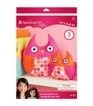 American Girl Sew Stuff Kit-Owls