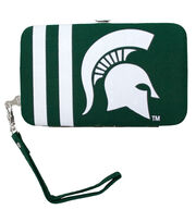 Michigan State University NCAA Shell Wristlet, , hi-res