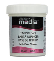 DecoArt Media White Tint Base 4oz, , hi-res