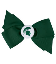 Michigan State NCAA Hair Barrette, , hi-res