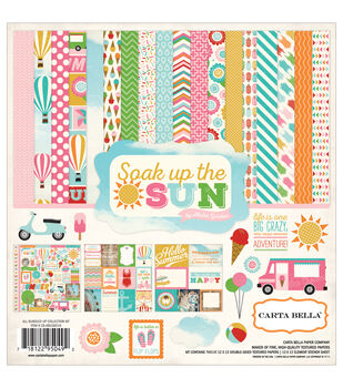 Carta Bella Soak Up The Sun Collection Kit 12''x12''