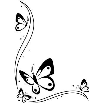 Darice Embossing Folder Butterflies
