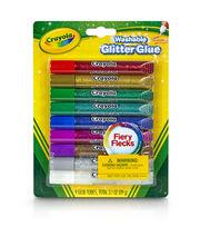 Crayola Glitter Glue 9/Pkg, , hi-res