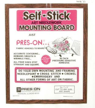 "Pres-On Mounting Board-11""x14"""