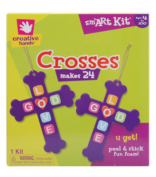 Fibre Craft Foam Kit-Crosses