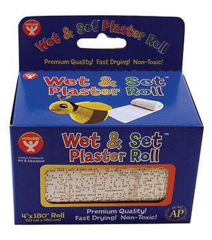 """Wet&Set Plaster Roll 4""""X 180"""""""