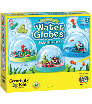 Creativity For Kids Make Your Own Under The Sea Water Globes