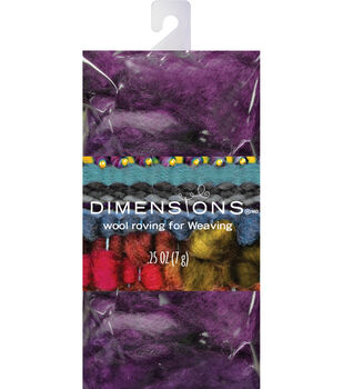 Dimensions Purple Curly Roving