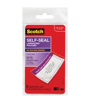 Scotch® Self Sealing Bag Tags 5pk