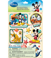 Disney Dimensional Stickers-Mickey Family Boys, , hi-res