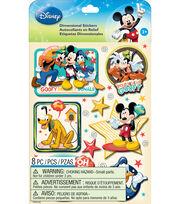 Disney Dimensional Stickers-Mickey Family Boys, , hi-res
