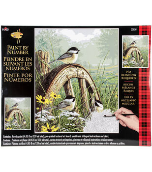 Plaid® 16''x20'' Paint By Number Kit-Meadow's Edge