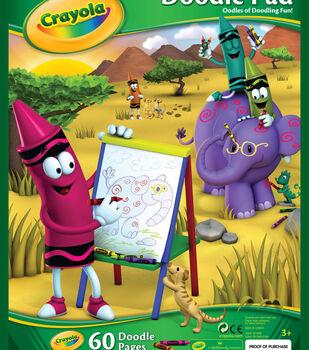 "Crayola Doodle Pad 9""X12""-60 Sheets/Pkg"