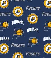 Indiana Pacers NBA Tossed Fleece, , hi-res