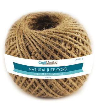 Natural Jute Cord 3ply 80g-