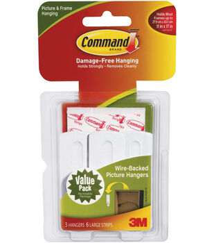 Command Wire Backed Picture Hangers