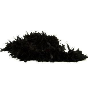 Heavy Chandelle Boas-Black or White
