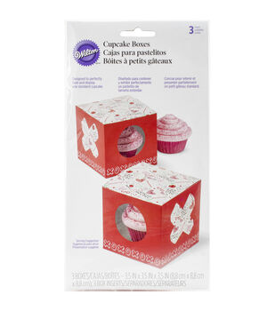 Clear Treat Boxes 3/Pkg-Spread Love & Sprinkle Kindness
