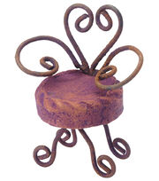 Fairy Garden French Clay Chair, , hi-res