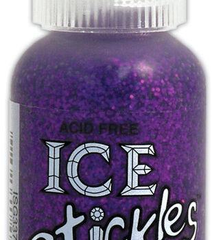 Ice Stickles Glitter Glue 1 Ounce-Purple