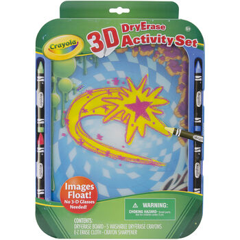3d Dry Erase Activity Set