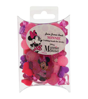 Jesse James® Disney Craft Beads For Jewelry-Minnie Mouse