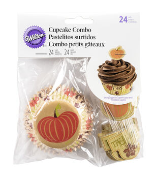 Wilton® Cupcake Combo Pack Makes 24-Cozy Fall