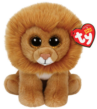Ty Beanie Babies Louie Lion Medium