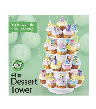 Wilton® 4-Tier Stacked Dessert Tower