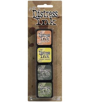 Tim Holtz® Distress Mini Ink Kits-Kit 10