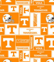 University of Tennessee NCAA  Fleece Fabric, , hi-res