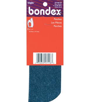 Wrights Bondex Iron-On Patches-5''x7'' 2/Pkg