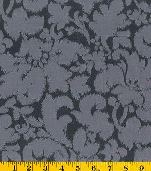 Gertie Collection Fabrics-Jacquard Black Gray