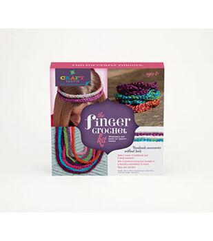 Craft-Tastic Finger Crochet Kit