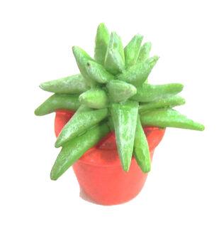 Fairy Garden Resin Aloe Plant