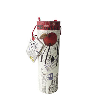 Wine Tube-New York Print