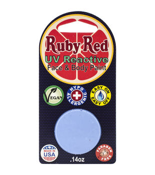 Ruby Red Face Paint .14oz-UV Pastel Blue