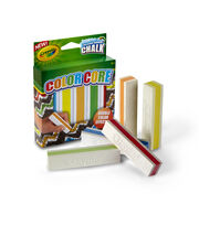 Crayola Color Core Washable Sidewalk Chalk 5/Pkg, , hi-res