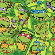 Teenage Mutant Ninja Turtles Retro Cotton, , hi-res