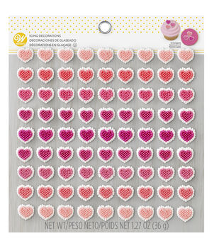 Icing Decorations -Micro Mini Hearts