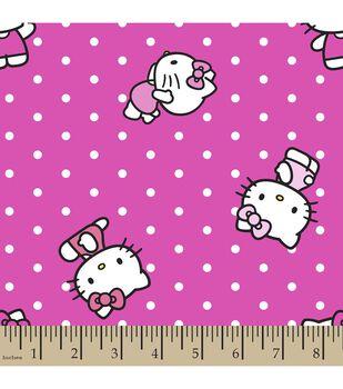 Sanrio Hello Kitty Print Fabric-Dots