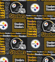 Pittsburgh Steelers NFL Cotton Fabric by Fabric Traditions, , hi-res