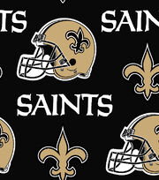 New Orleans Saints NFL Cotton Fabric by Fabric Traditions, , hi-res