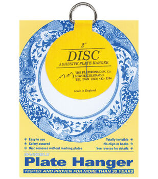 "Disc Plate Hanger 2""-For Plates Up To 6"""