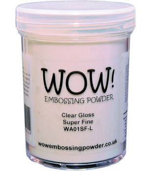 WOW. Embossing Powder Super Fine 15ml-Clear Gloss