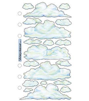 Sticko Vellum Stickers-Clouds