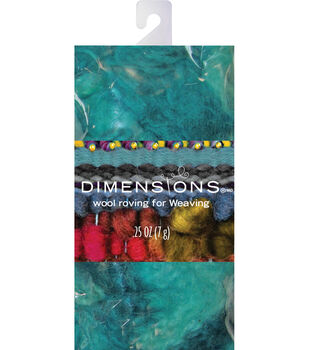 Dimensions Turquoise Curly Roving