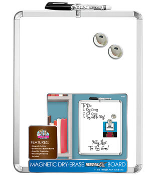 11x14 Metalix Magnetic Dry Erase Board