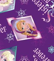 Disney Frozen Sisters Fleece Fabric, , hi-res