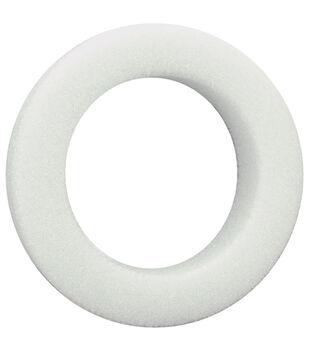 Floracraft Beveled Styrofoam Wreath-24PK